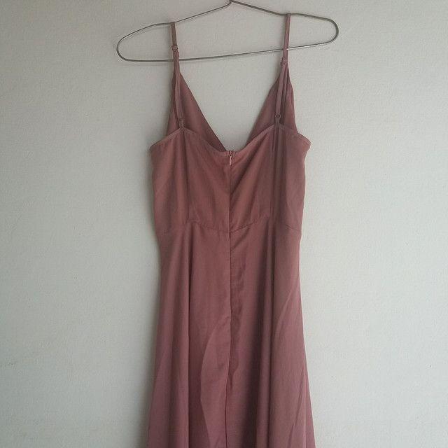 Vestido longo Rosé - Foto 4
