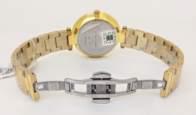 Relógio Feminino Philiph London Vidro Safira Ref: Pl *f Ch  - Foto 5