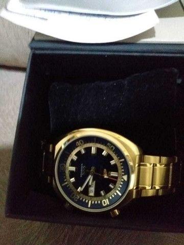Relógio Orient Dourado - Foto 5