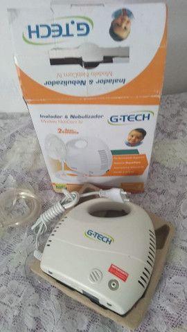 Inalador & Nebulizador NebCom IV - G-tech - Foto 3