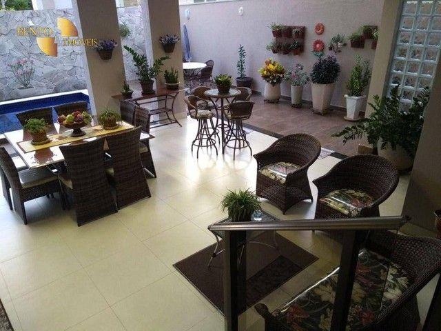 Casa com 5 dormitórios à venda, 490 m² por R$ 2.200.000,00 - Condomínio Florais Cuiabá Res - Foto 10