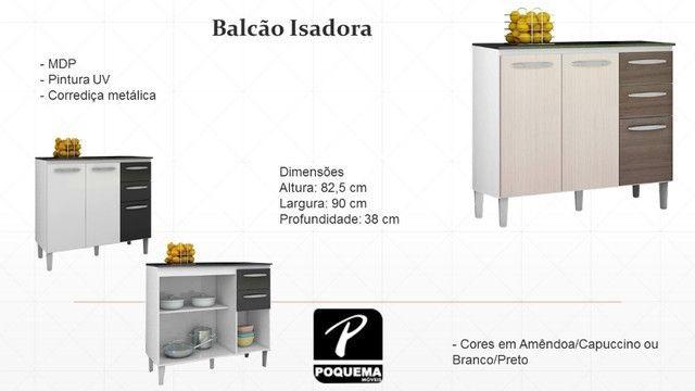 (4415) Toda loja em promoção! Receba amanhã! Balcão Isadora
