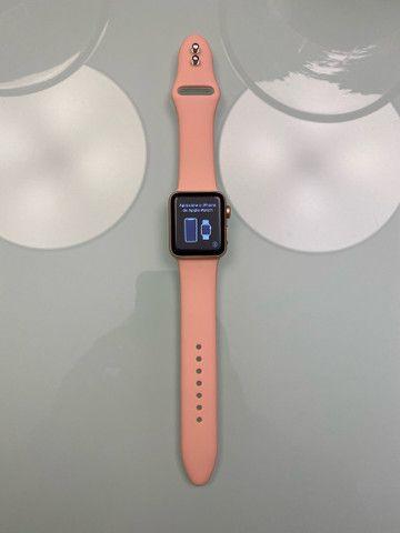 Apple Watch Series 3 38mm GPS + Cellular, Gold Aluminum, Pink Sport Band - Foto 5