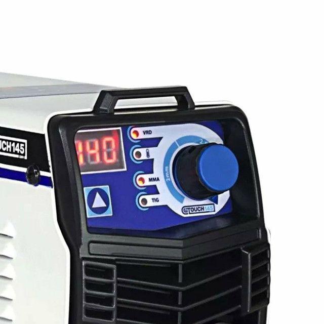 Máquina de Solda Inversora Touch 145 140A - BOXER-1510026<br><br> - Foto 3