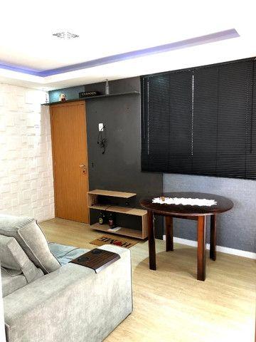 Apartamento novo com 2 dorm. semi-mobiliado, decorado pronto pra morar - Areis-São José - Foto 2
