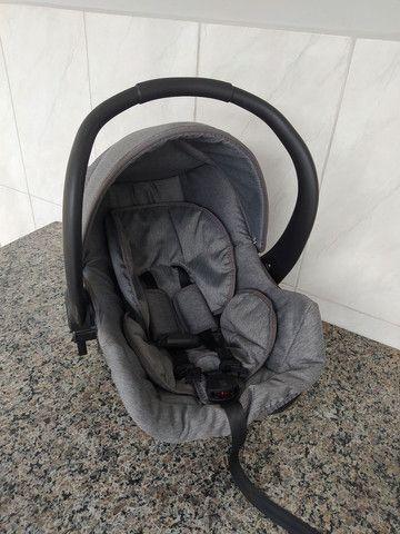 Carrinho de bebê moises com bebê conforto - Foto 5