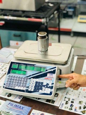 Balança Wi-fi com Impressor de Etiquetas - Foto 2