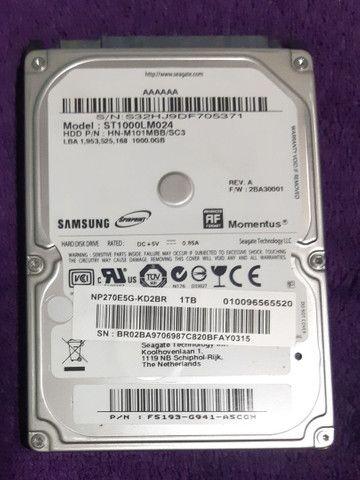 HD 1tera sansung para notebook