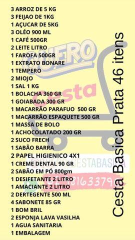 Cesta Basica 3 Modelos Ouro / Prata / Bronza - Foto 6