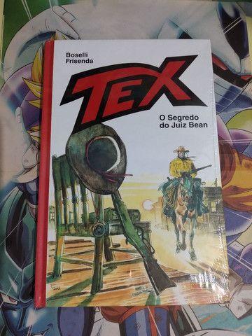 HQ Tex - O Segredo do Juíz Bean - Capa Vermelha - NOVA LACRADA