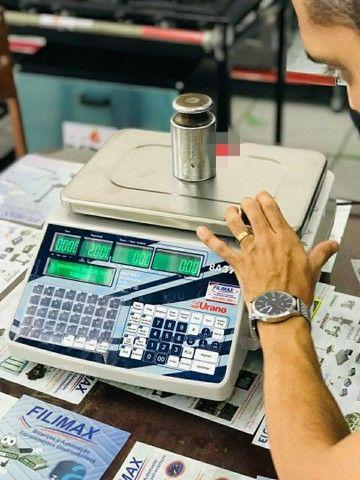 Balança Wi-fi com Impressor de Etiquetas - Foto 3