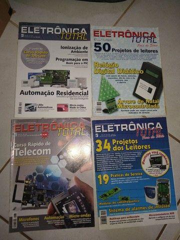 Revistas de eletrônica  - Foto 5