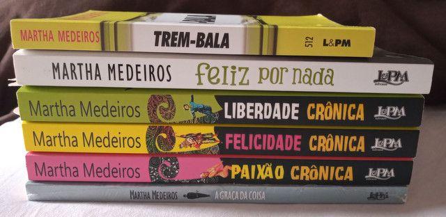Livros Coleção - Martha Medeiros - 6 livros - Foto 2