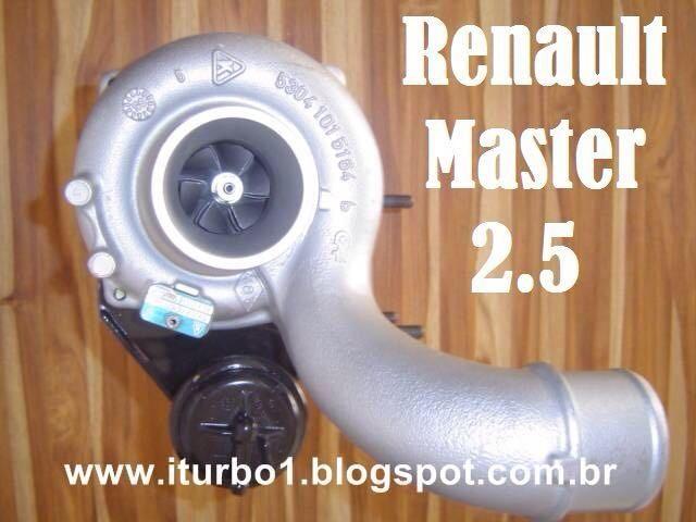 Turbina renault master 2.5 eletrônica