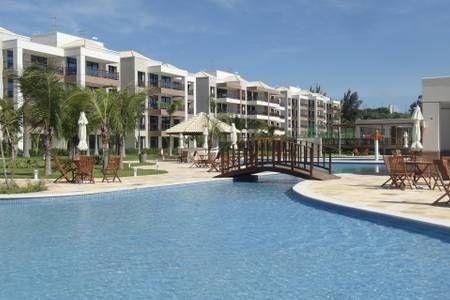 Cumbuco-Apartamento 95 m2 frente mar no Waiwai