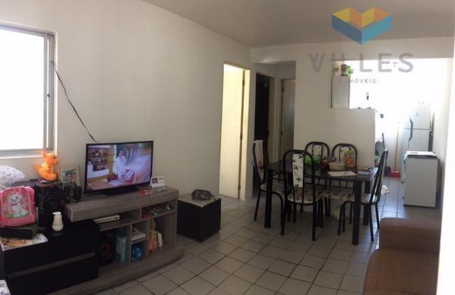 Apartamento residencial à venda, Pinheiro, Maceió.