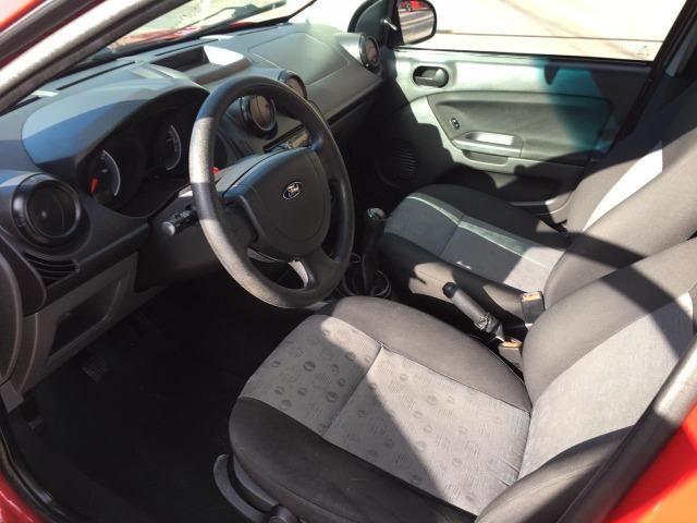 Ford Fiesta 1.6 2011 Único Dono Completo Super Novo - Foto 8