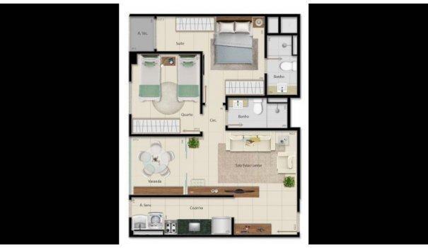 2 e 3 QUARTOS - ALTO PADRÃO - Apartamento em Lançamentos no bairro Praia da Cost... - Foto 4