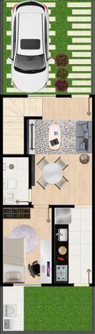 Lançamento de Casas duplex em Condomínio fechado - Foto 13