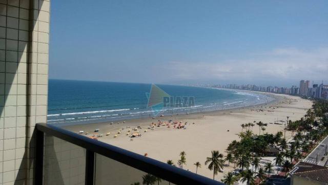 Cobertura com 3 dormitórios para alugar, 256 m² por r$ 5.000/mês - canto do forte - praia