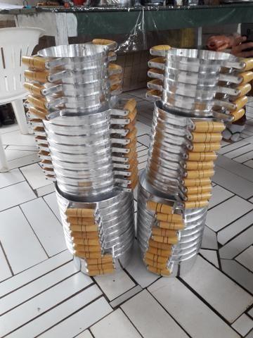 Panela de alumínio batido grosso - Foto 4