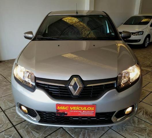 Renault sandero vibe 1.0 2018 impecável - Foto 3