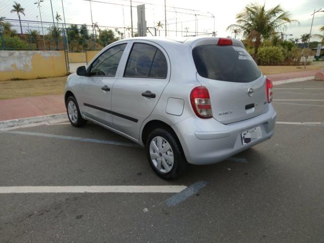 Nissan March 2011/12 Básico IPVA Pago - Foto 8