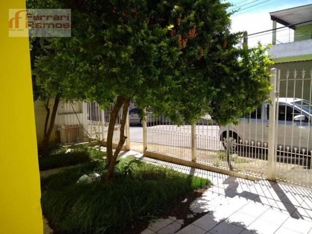 Casa com 3 dormitórios para alugar, 80 m² por r$ 1.350,00/mês - jardim presidente dutra -  - Foto 2