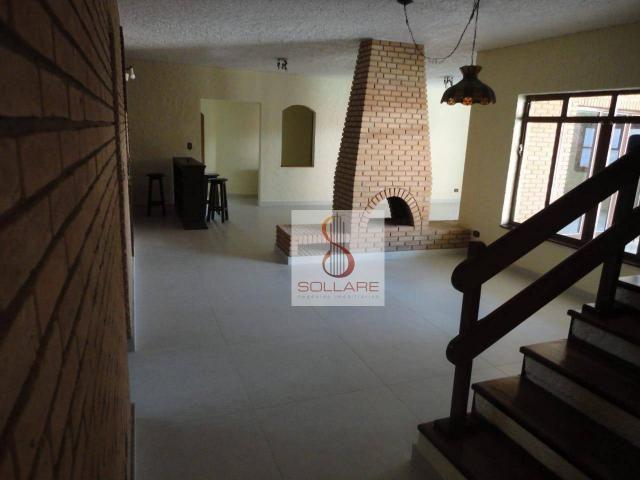 Sobrado para alugar, 338 m² por r$ 6.000,00/mês - jardim apolo - são josé dos campos/sp - Foto 2