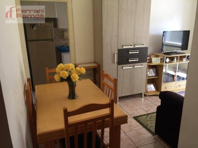 Apartamento com 1 dormitório à venda, 47 m² por r$ 230.000 - macedo - guarulhos/sp