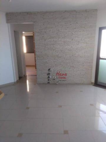 Apartamento com 2 dormitórios à venda, 52 m² por r$ 255.000 - vila mangalot - são paulo/sp - Foto 4