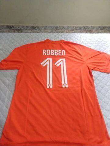 8b8f8a5d79cb3 Camisa Holanda Copa do Mundo 2014 Original Nike - Esportes e ...