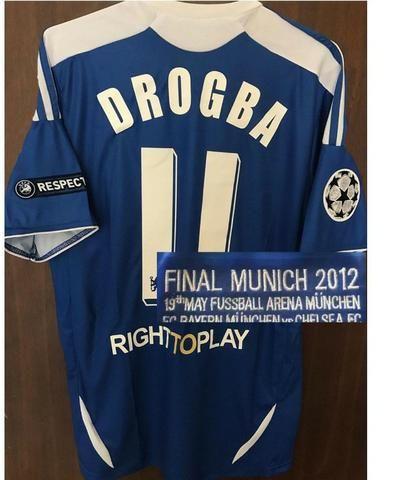 50745743e507e Camisa Chelsea Liga dos Campeões da Europa 2012 Original Adidas ...