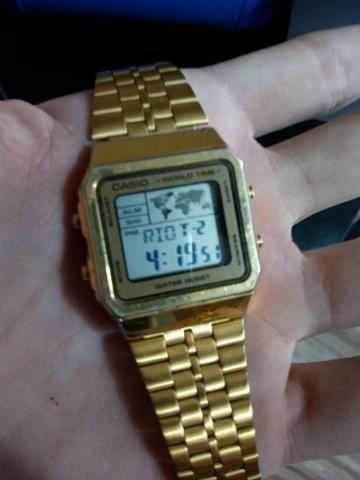 0640d1b85 Vendo relógio casio vintage - Bijouterias
