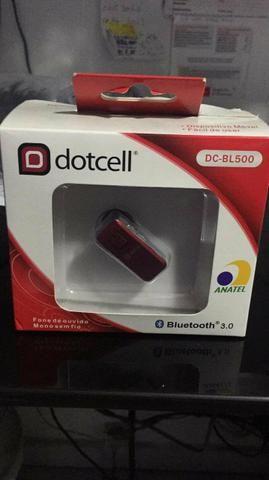 Fone mono com Bluetooth novo na caixa grátis a instalação em seu carro na hora