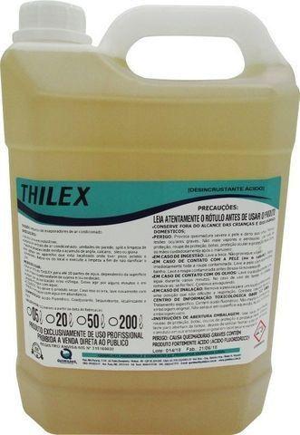 Desengraxante e Desincrustante Thilex para limpeza de Evaporadores de Ar Condicionado