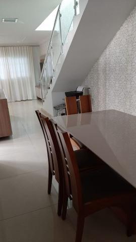 Belíssima casa, 3 quartos, 3 vagas, espaço gourmet - Foto 3