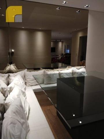 Apartamento amplo com 3 suítes e 3 vagas à venda, 182 m² por R$ 1.300.000 - Vila Rosália - - Foto 5