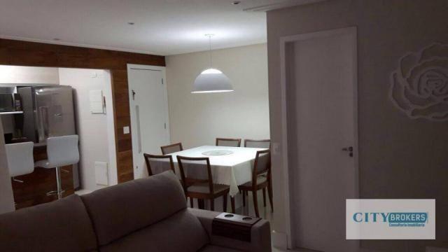 Apartamento com 2 dormitórios à venda, 62 m² por R$ 350.000,00 - Ponte Grande - Guarulhos/ - Foto 10