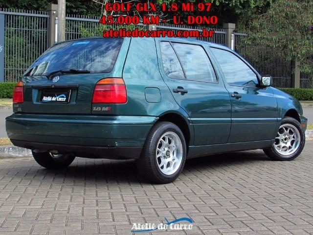 Golf GL 1.8 Mi 1997 45.000 km Originais - Único Dono - Ateliê do Carro - Foto 2