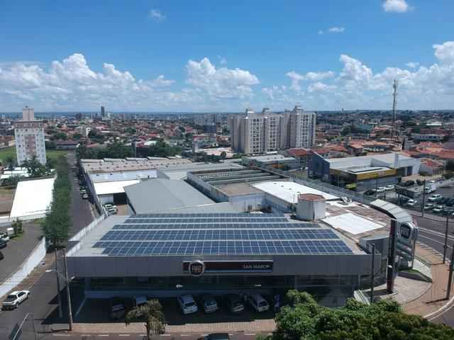 Energia Solar (Limpeza de módulos)
