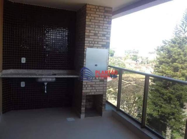 Apartamento 2 quartos varanda gourmet na Extensão do Bosque - Rio das Ostras/RJ