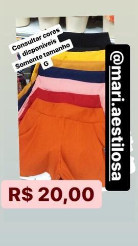 Shorts femininos - Foto 2