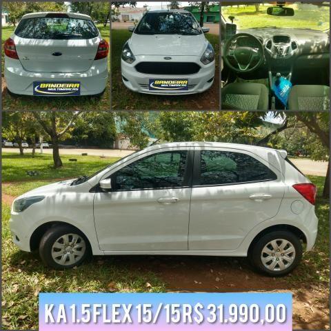 Ka 1.5 flex 15/15 R$ 31.990,00
