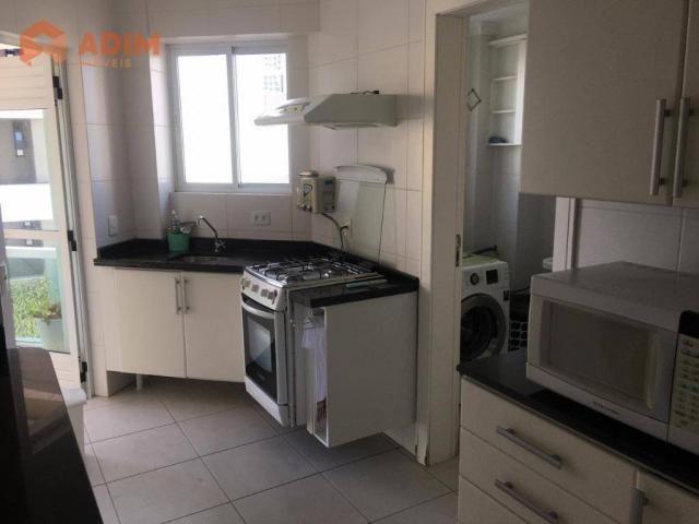 Apartamento com 3 dormitórios para alugar, 97 m² por R$ 3.228/mês - Pioneiros - Balneário  - Foto 8