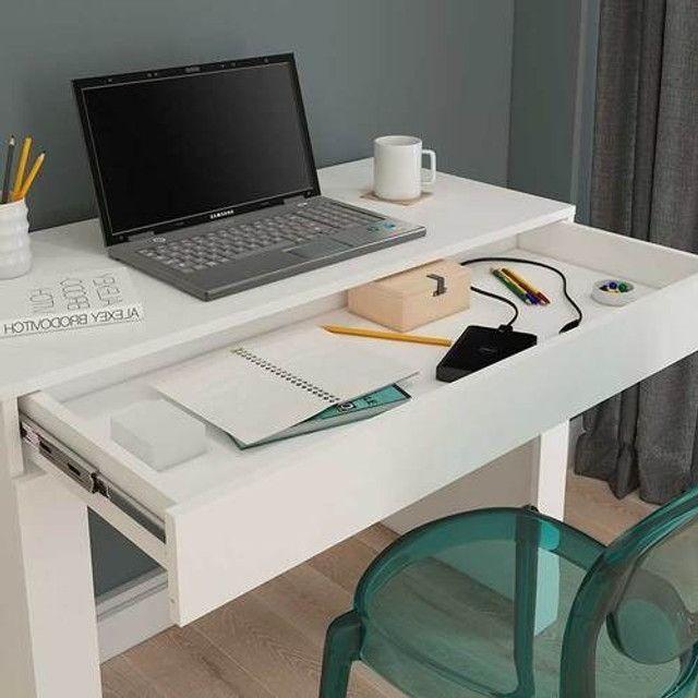 Mesa de computador Cleo | Produto Novo| modelo simples - Foto 2