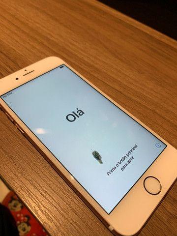 Iphone 6S Rose Gold 64GB única dona, sem nenhum arranhão - Foto 5