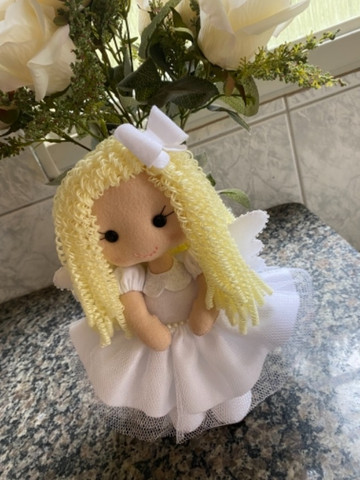 Anjinha para decoração de Batizado - Foto 2