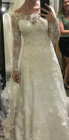Vestido de noiva Carol Hungria  - Foto 5