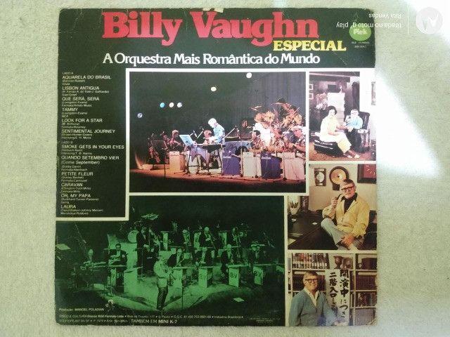 Vinil Billy Vaughn - Especial com encarte - Foto 3